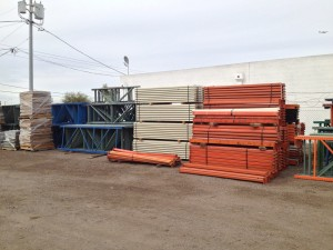 used pallet rack in stock